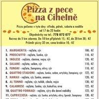 Pizza z pece na Cihelně