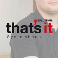 that's it SOLUTIONS