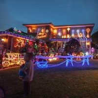 Christmas Lights: Wantirna South, Melbourne