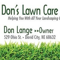 Don's Lawn Care and Snow Removal