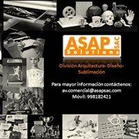 ASAP División Arquitectura-Diseño-Sublimación