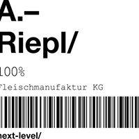 Fleischmanufaktur Anton Riepl