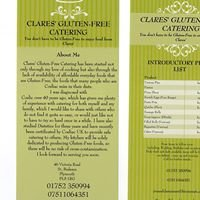 Clares' Gluten-Free Catering