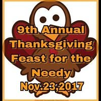 Annual Thanksgiving Feast for the Needy