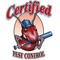 Certified Pest & Termite Control