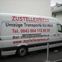 Zustellexpress.at -  Umzüge Möbeltransporte Räumungen Einlagerungen Montage