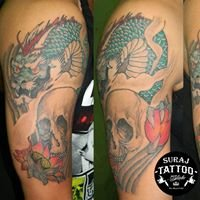 Suraj Tattoo ink
