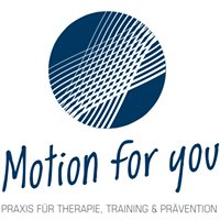 Motion for you - Praxis für Therapie, Training & Prävention