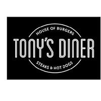 Tony's Diner Horn. House of Burgers and Hot Dog's.