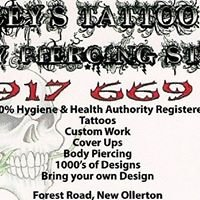 Traceys Tattoo &  Body Piercing Studio
