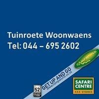 Tuinroete Woonwaens Campworld Safari Centre Mossel Bay