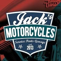 Jack's Motorcycles Service Parts Garage