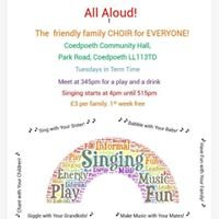 All Aloud-the friendly family Choir for Everyone
