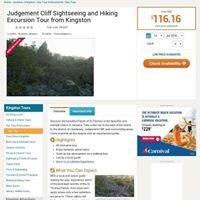 People's Choice Nature Tour. Hiking Judgement Cliff, Jamaica