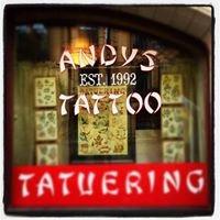 Andys Tattoo Studio Halmstad est. 1992