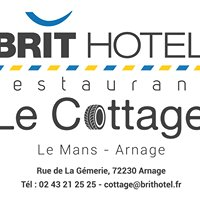 BRIT Hotel Le Cottage 3*** Arnage