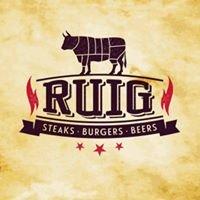 RUIG steaks - burgers - beers