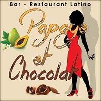 Papaye et Chocolat
