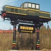 Grängesbergsbanornas Järnvägsmuseum GBBJ