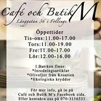 Café och Butik M