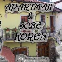 Apartmaji in sobe Koren Vipava