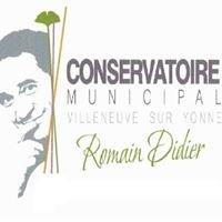 Conservatoire municipal Romain Didier VilleneuvesurYonne