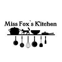 Miss Fox's kitchen