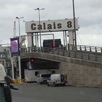 Calais Ferry Terminal.