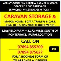 Mayfield Caravan Storage - Pontefract, West Yorkshire