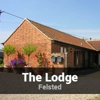The Lodge - Holiday Cottage in Felsted
