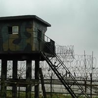 North Korea and South Korea Border. DMZ demilitarized zone