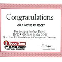 Gulf Waters RV  Resort                 Fort Myers Beach