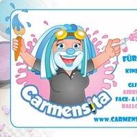 Carmensita-faces   Kinderschminken, Face-und Bodypainting Kunst