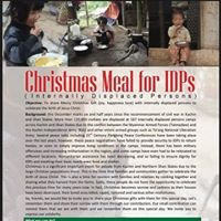 Concern, Care and Contribute to the IDPs NOW