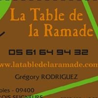 TABLE De La Ramade