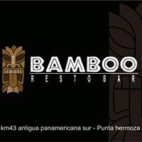 Bamboo Service bar