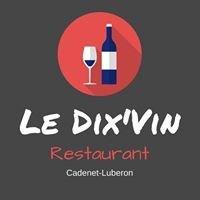 Restaurant           Le Dix'Vin