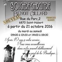 Boucherie Gillard Benoit