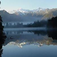 Lake Matheson, Fox Glacier, NZ