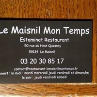 LE MAISNIL MON TEMPS