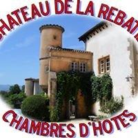 Le Château de la Rebatière - Chambres d'hôtes
