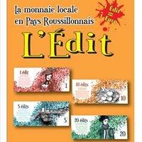 L'Edit, la monnaie locale du Pays Roussillonnais