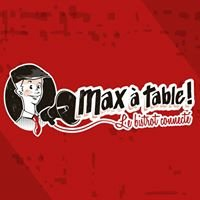 Max a table