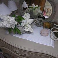 Patine à l'ancienne sur meubles et abat-jour