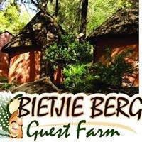 Bietjie Berg Guest Farm