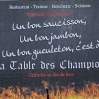 """La boucherie """"La table des champions"""""""