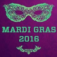 Mardi Gras on Bourbon Street