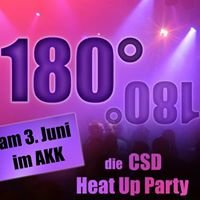180º - die CSD-HeatUp-Party