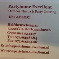 Partyhome-Excellent catering.nl