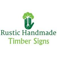 Rustic Handmade Timber Signs